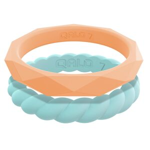 Women's Stackable Collection L Silicone Ring, Size 07