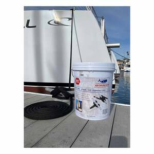 "5/8"" Black Dock Line 4-Pack with Bucket"