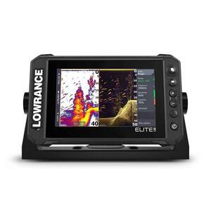 Elite FS 7 Fishfinder/Chartplotter Combo with Active Imaging 3-in-1 Transducer and C-MAP Contour Charts