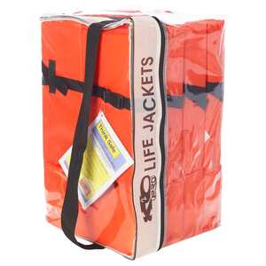 Type II Life Jackets, 4-Pack