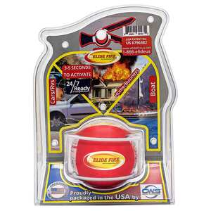 "4"" Elide Fire Ball Fire Extinguisher with Non-Closeable Mounting Bracket"