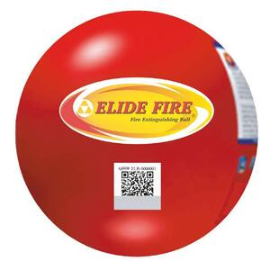 "6"" Elide Fire Ball Fire Extinguisher Industrial Box Package with Non-Closeable Mounting Bracket"