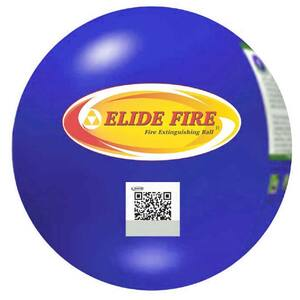 "4"" Elide Fire Ball Fire Extinguisher Industrial Box Package with Secure & Closeable Mounting Bracket"