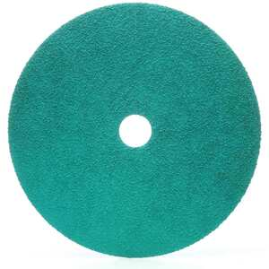 "Green Corps Fibre Disc 7"" 60 Grit, 20-Pack"