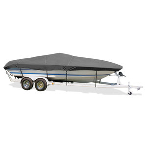 "Ski Boat Cover, I/O, Gray, Hot Shot, 15'5""-16'4"", 80"" Beam"