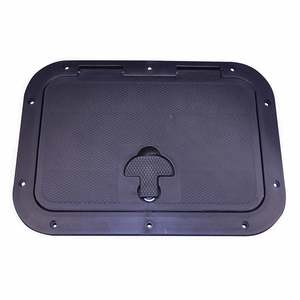 "Inspection Hatch, 7"" x 11"", Black"