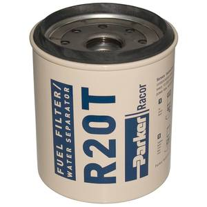 R20T Spin-On Fuel Filter/Water Separator For Series 230R, 10 Micron