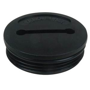 Waste Cap for 1269-Style Deck Plate