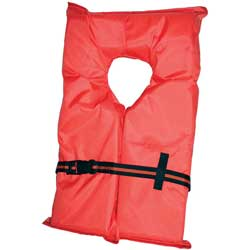 Type II Near-Shore Buoyant Life Jackets