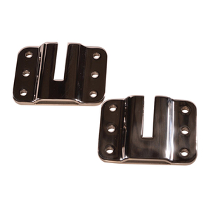 Boarding Stair Flush Mount Plate Bracket Set
