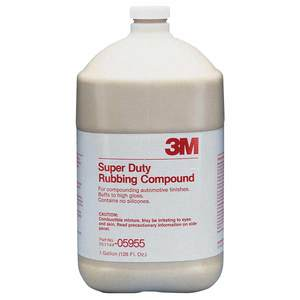 Super Duty Rubbing Compound, Gallon