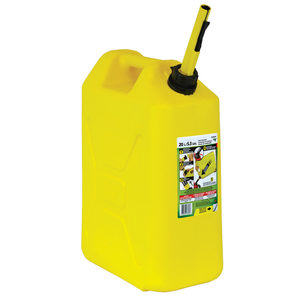 ECO 5 Gallon Military Style Diesel Fuel Can, Yellow