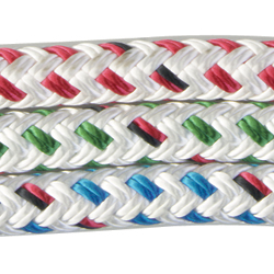 Endura Braid Dyneema Double Braid with Color-Coded Flecks, Sold by the Foot