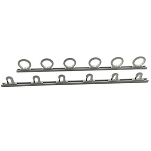 2' Trac-A-Rod Fishing Rod Rack, Holds 6 Rods