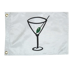 Cocktail Flag, 12 x 18""