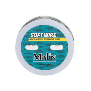 Soft Monel Trolling Wire, 300', 50Lb, 0.026 Dia