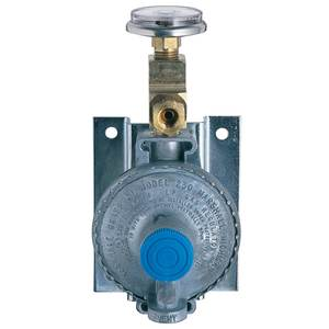 Single-Stage Bulkhead-Mount LPG Regulator