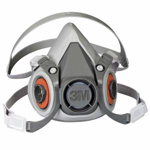 6000 Series Half Facepiece Respirator, Large