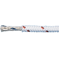 V-100 Vectran Double Braid, White