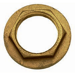Spare Bronze Flanged Lock Nuts for Thru-Hulls