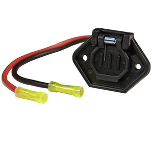 Female Boat Side Trolling Motor Socket, 12V