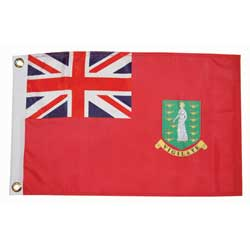 "British Virgin Islands Courtesy Flag, 12"" x 18"""