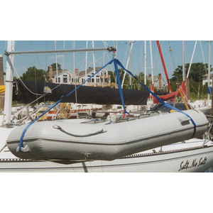 Boat davits lifts wheels west marine for Outboard motor lifting strap