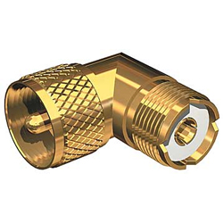 Connector, Gold Plated PL259-SO239