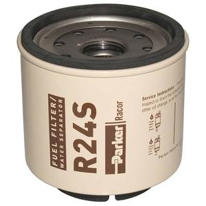 R24S Spin-On Fuel Filter/Water Separator For Series 220R, 2 Micron