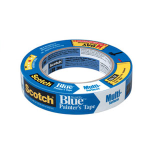 Scotch Blue Multi-Surface 2090 Blue Long Masking Tape - 1""