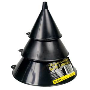 Lubrimatic-3 Piece Funnel Set
