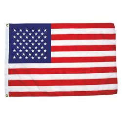 "Sewn US 50 Star Flag, 12"" x 18"""