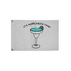 "Margarita Time Flag, 12"" x 18"""