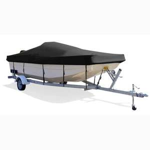 "Bay Boat Cover, OB, Pacific Blue, Hot Shot, 15'5""-16'5"", 82"" Beam"