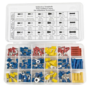 Terminal Kit Assortment, 175-Piece