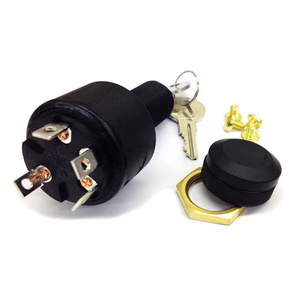 4-Position Ignition Switch Conventional, Accessory-Off-Run-Start
