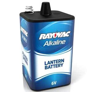 "Alkaline ""6V"" Battery Spring Top"
