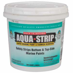 Aqua Strip Paint Stripper, Quart