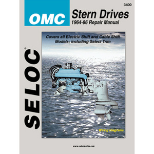 Repair Manual - OMC Stern Drive, 1964-1986, 4Cyl., V4, V6, All HP