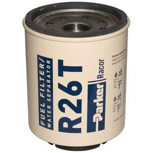 R26T Spin-On Fuel Filter/Water Separator For Series 225R, 10 Micron