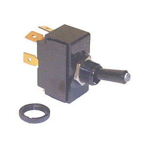 Tip Lit Toggle Switch Mom-On-Off SPST