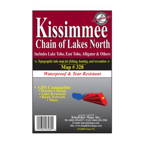 Kissimmee Chain North Waterproof Map