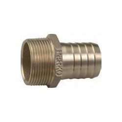 Bronze Pipe-to-Hose Adapter
