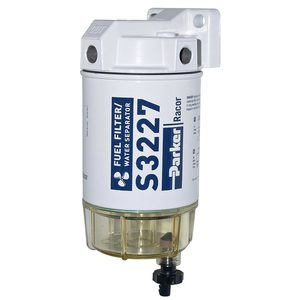 everyday value 320r-rac-01 spin-on fuel filter/water separator, 10 micron   racor