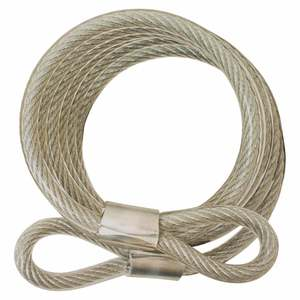 Coiled Padlock Cable - 6'