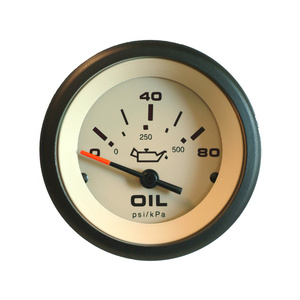 Sahara Series Oil Pressure Gauge, 80 psi
