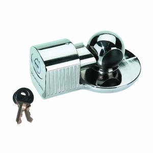 Trailer Hitch Lock - Nickel Plated