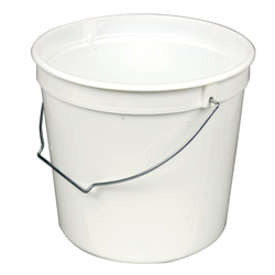 Paint Pail with Handle, 5 Pint