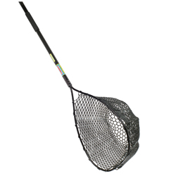 Pro Guide Extendable Handle Rubber Landing Net