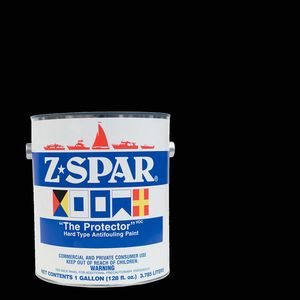 Z-Spar The Protector Antifouling Paint, Black, Gallon